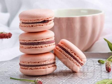 Френски макарон с крем от шоколад и ликьор амарето - снимка на рецептата